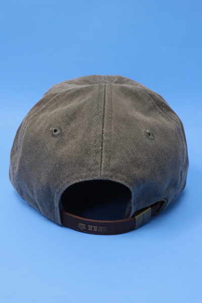 Unisex Big Easy Bucha Embroidered Baseball Cap - Charcoal