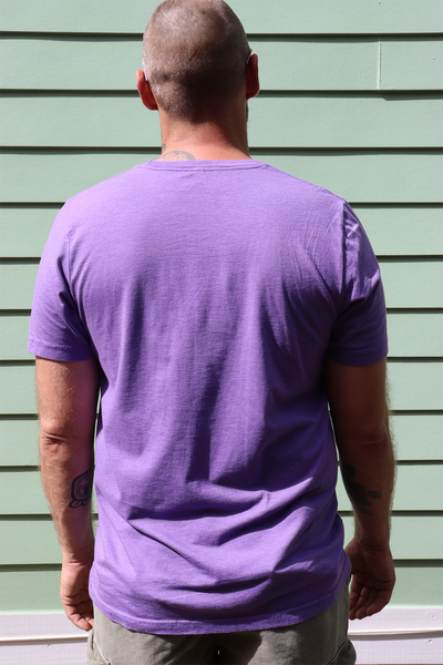 Big Easy Bucha Logo T-Shirt - Heather Purple