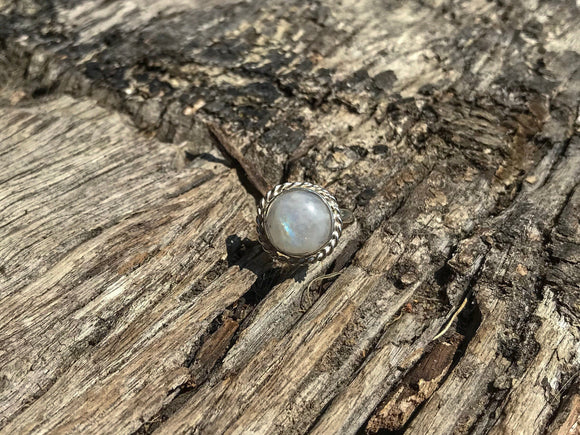 Infinite Moonstone Ring