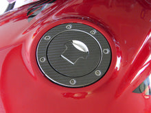 Load image into Gallery viewer, JOllify #023 Carbon Tankdeckel Cover für Honda CB 500 1993-1996 PC26 - Team-JOllify
