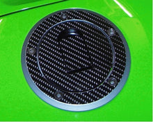 Load image into Gallery viewer, JOllify #032 Carbon Tankdeckel Cover für Kawasaki ZX6R 2002-2002 ZX636A - Team-JOllify