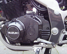 Laden Sie das Bild in den Galerie-Viewer, JOllify #143 Carbon Motordeckel Cover für Suzuki GS400 E-EN 1977-1983 GS400 - Team-JOllify