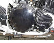 Laden Sie das Bild in den Galerie-Viewer, JOllify #207 Carbon Motordeckel Cover für Suzuki GSF 1200 S 1995-2000 GV75A - Team-JOllify