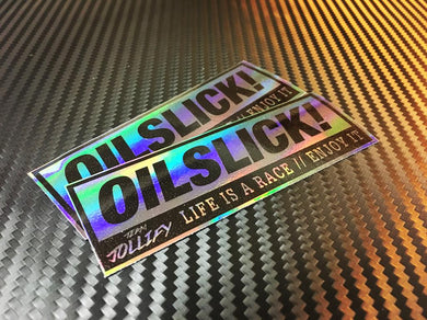 JOllify Aufkleber 'Blingbling Oilslick' Sticker MTB Mountainbike Sticker Specialized