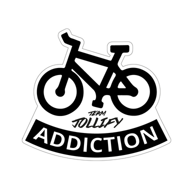 JOllify Aufkleber 'Bike Addiction' Sticker MTB