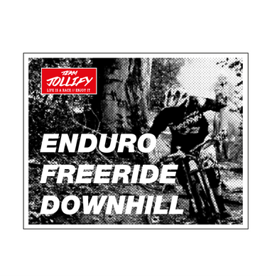 JOllify Aufkleber 'Enduro Freeride Downhill' Sticker MTB