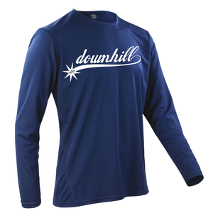 JOllify Team Downhill Mountainbike Trikot MTB langarm navy