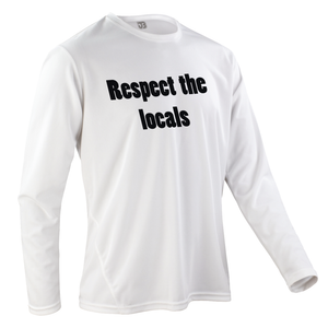 Team-JOllify Respect The Locals Mountainbike Trikot weiss langarm