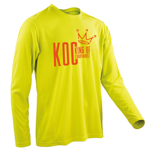 Team-JOllify KOC King of Currywurst Trikot MTB langarm gelb