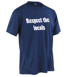 Team-JOllify Respect The Locals Mountainbike Trikot navy kurzarm
