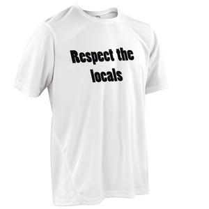 Team-JOllify Respect The Locals Mountainbike Trikot kurzarm weiss
