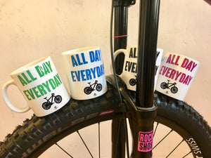 JOllify Kaffeetassen - All day everyday - Mtb Mountainbike Tasse