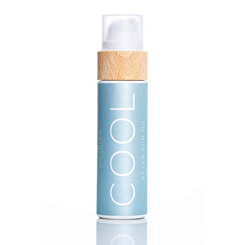 COCOSOLIS COOL After Sun Oil | Organic Oil for Tender Hydration and Recovery After Sun | Moisturising, Revitalising & Nourishing the Skin | 9 Raw Organic Oils for Smooth & Elastic Skin: