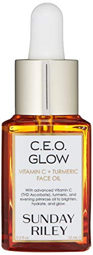 Sunday Riley C.E.O Glow Vitamin C + Turmeric Face Oil 15ml: Irish Oil
