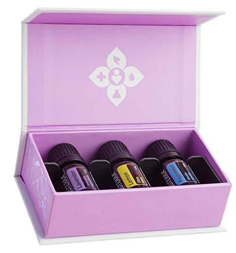 doTERRA Essential Oils Introductory Kit (Lavender, Lemon & Peppermint) 5ml - (NEW Look) Irishoil.ie