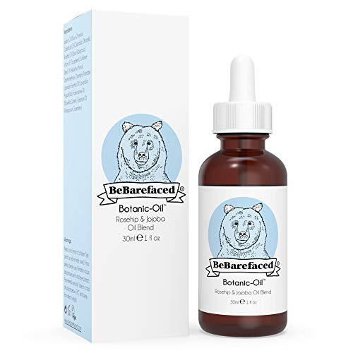 BeBarefaced Natural Botanic-Oil - Vegan Face Oil for Dry Skin Dark Spots Acne Scars Stretch Marks & Fine Lines - Anti-Ageing Vitamin A, C and E to Target Wrinkles - Essential Oils Rosehip & Jojoba: Body Oils Irishoil.ie
