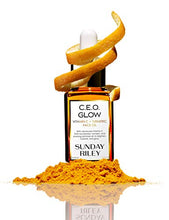 Load image into Gallery viewer, Sunday Riley C.E.O Glow Vitamin C + Turmeric Face Oil 15ml: Irish Oil