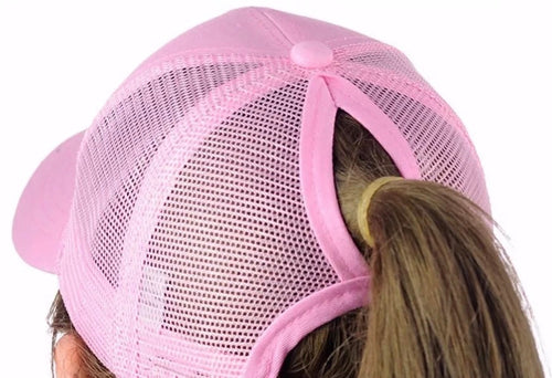 Ladies Ponytail Hats