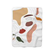 "Load image into Gallery viewer, ""Sweet Soul"" Sherpa Fleece Blanket"