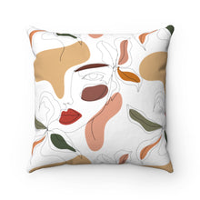 "Load image into Gallery viewer, ""Imagination"" Square Pillow"