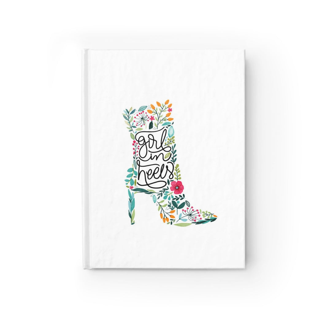 Girl in Heels Journal - Ruled Line