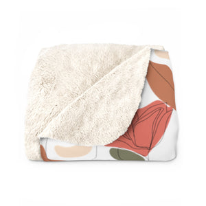"""She Sees Everything"" Sherpa Fleece Blanket"