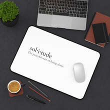 Load image into Gallery viewer, Sol-i-tude Desk Mat