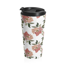 Load image into Gallery viewer, Floral Print Travel Mug