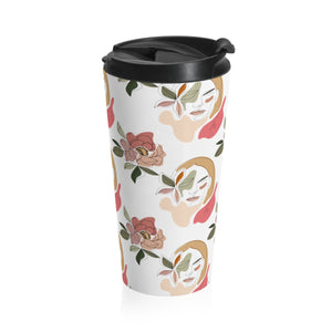 """Stoic Woman"" Travel Mug"