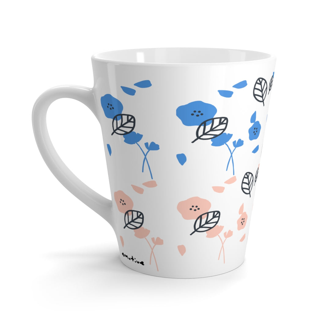 Spring Florals Mug in Coraly Blue