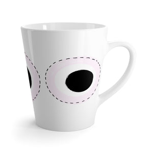 Circles Mug in Light Purple