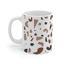 Load image into Gallery viewer, Brown Terrazzo Ceramic Mug