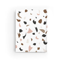 Load image into Gallery viewer, Multi-Colored Terrazzo Journal - Ruled Line