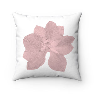 Red Floral Pillow