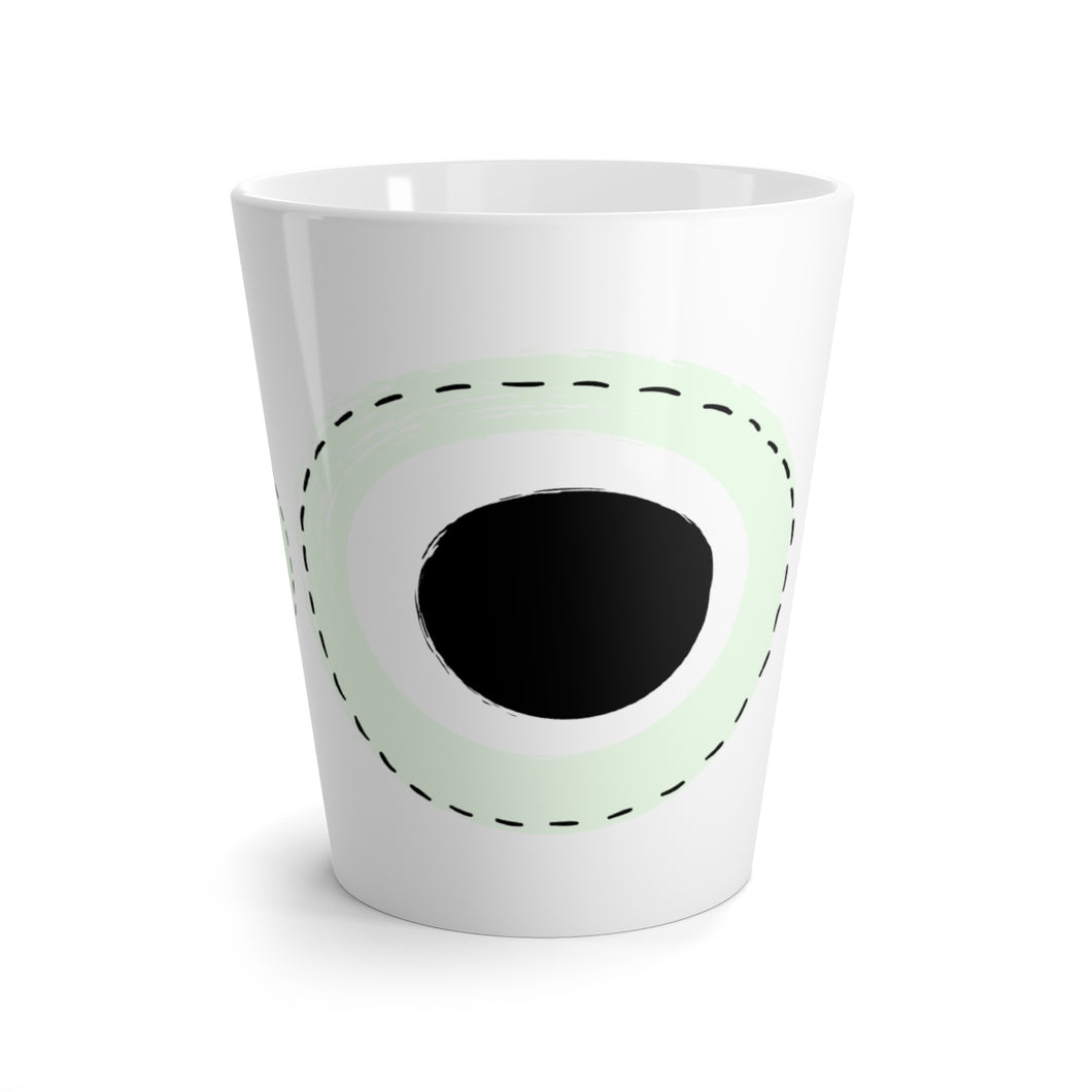 Circles Mug in Light Green
