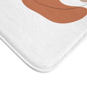"""She Sees Everything"" Bath Mat"