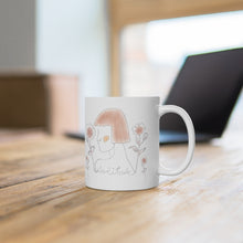 Load image into Gallery viewer, Lady Solitude Mug in Brown
