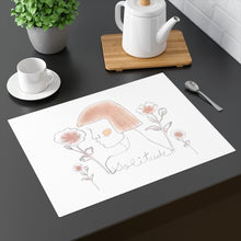 Load image into Gallery viewer, Lady Solitude Placemat in Brown