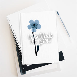 """In Solitude We Grow"" Notebook"