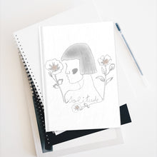 Load image into Gallery viewer, Lady Solitude Notebook (Grey)
