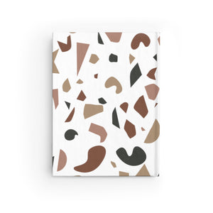 Brown Terrazzo Journal - Ruled Line