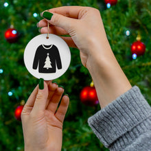 Load image into Gallery viewer, Reversible Christmas Sweater Ornament