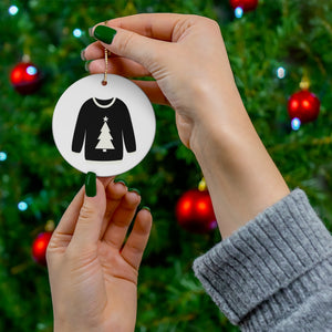 Reversible Christmas Sweater Ornament