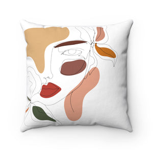 """Sweet Soul"" Square Pillow"