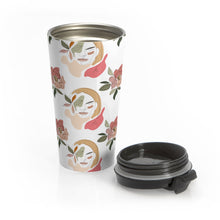 "Load image into Gallery viewer, ""Stoic Woman"" Travel Mug"