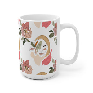 """Stoic Woman"" Ceramic Mug"
