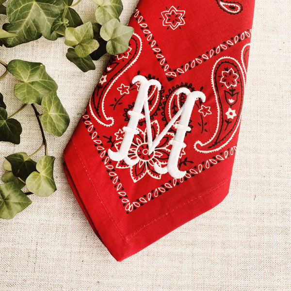 Red Bandana Dinner Napkins