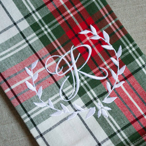 Plaid Kitchen Dish Towel