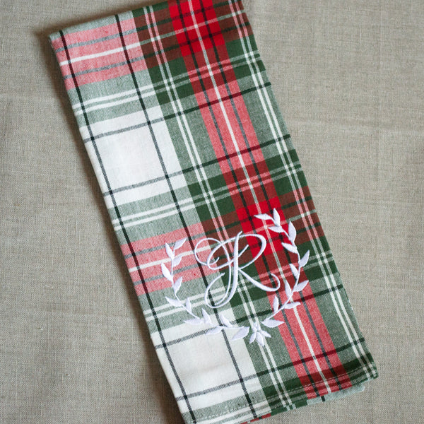 Tartan Kitchen Towel
