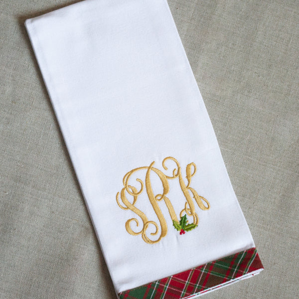 Holiday Holly Kitchen Towel